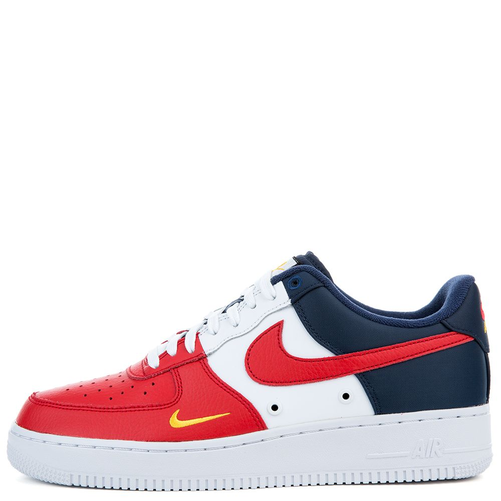 nike air force 1 07 lv8 university red white blue