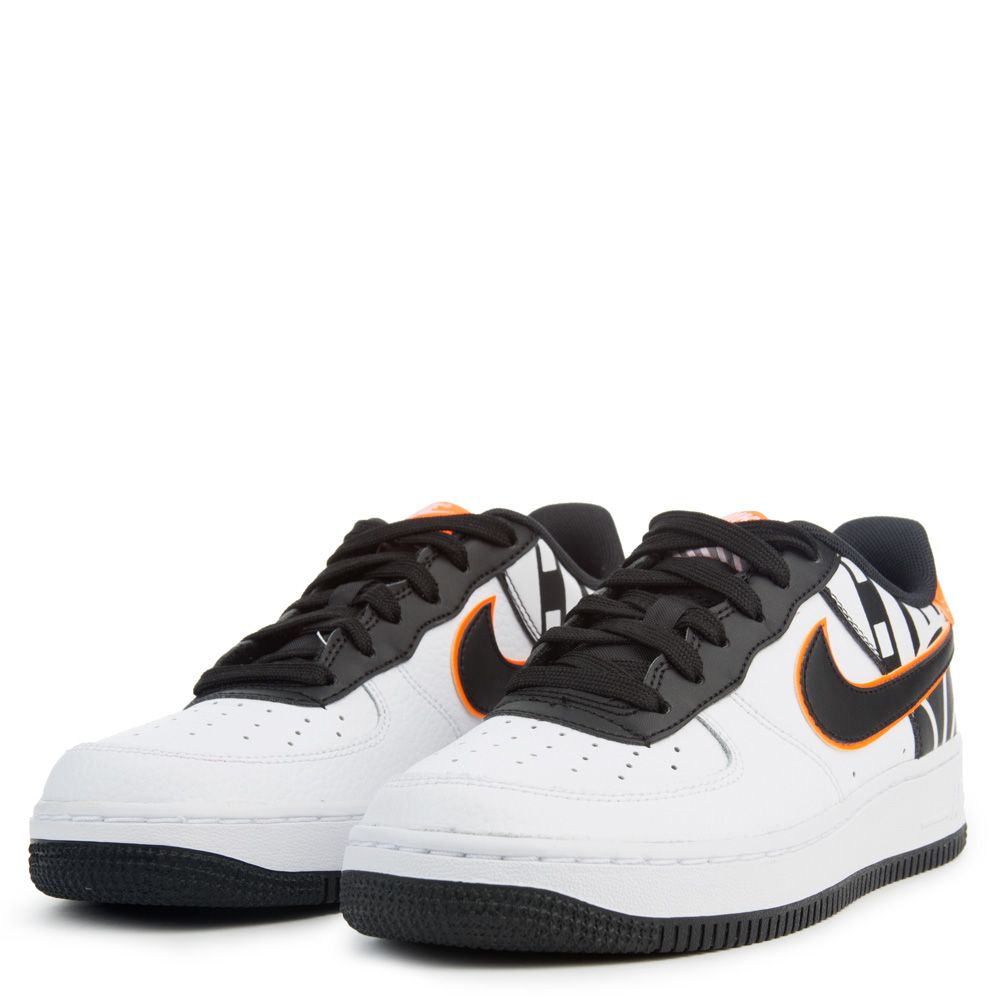 nike air force 1 gs lv8 white black new. Black Bedroom Furniture Sets. Home Design Ideas