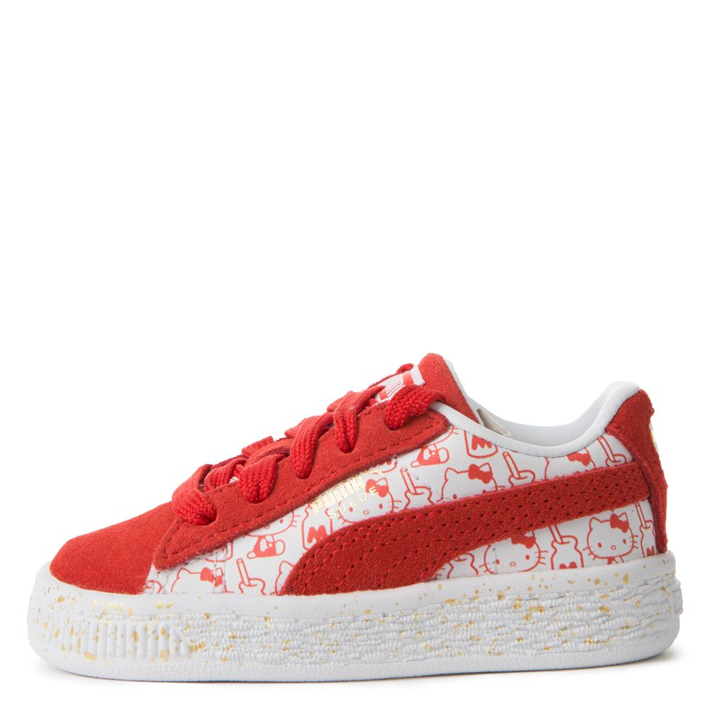 Toddler puma suede x hello kitty bright redbright red nvjuhfo Choice Image