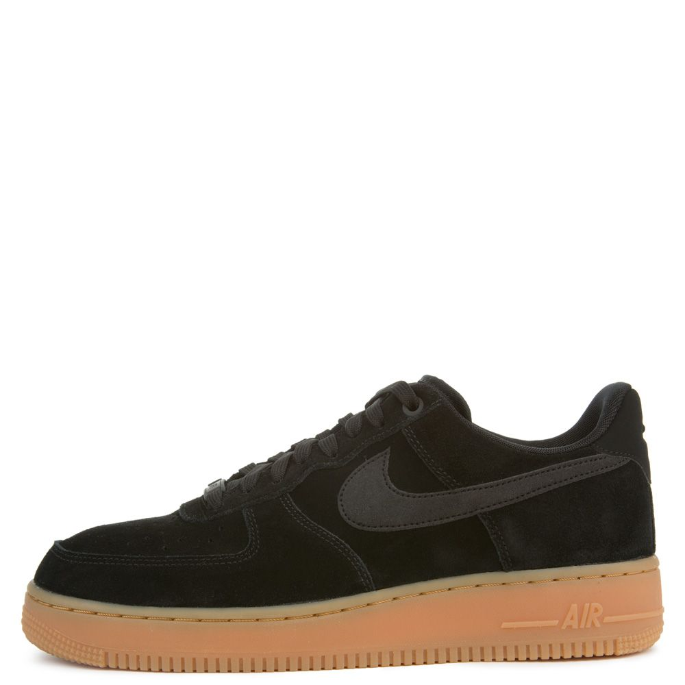 nike air force 1 black gum