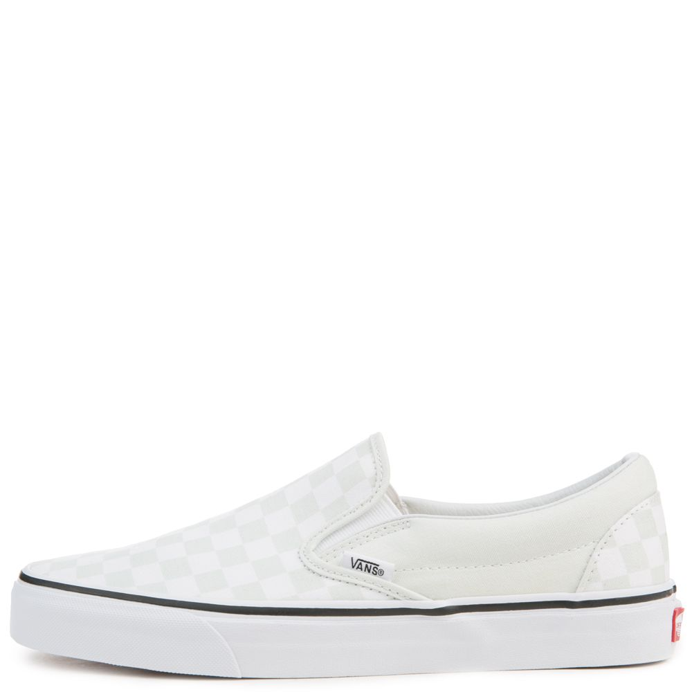 vans classic slip on checkerboard blue black