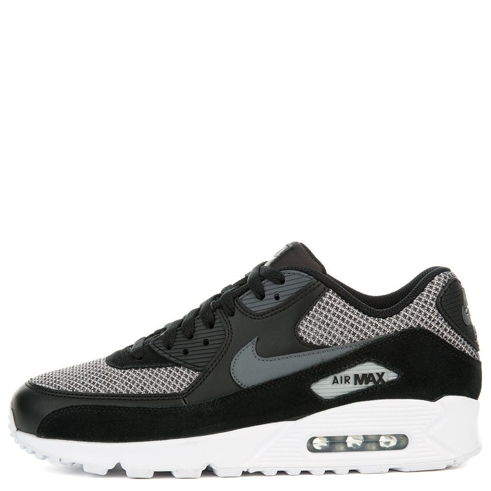 nike air max 90 essential black dark grey dark grey chrome. Black Bedroom Furniture Sets. Home Design Ideas