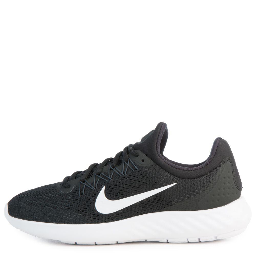 Boys Nike Lunar Sk Yelux Black Green White Shoe