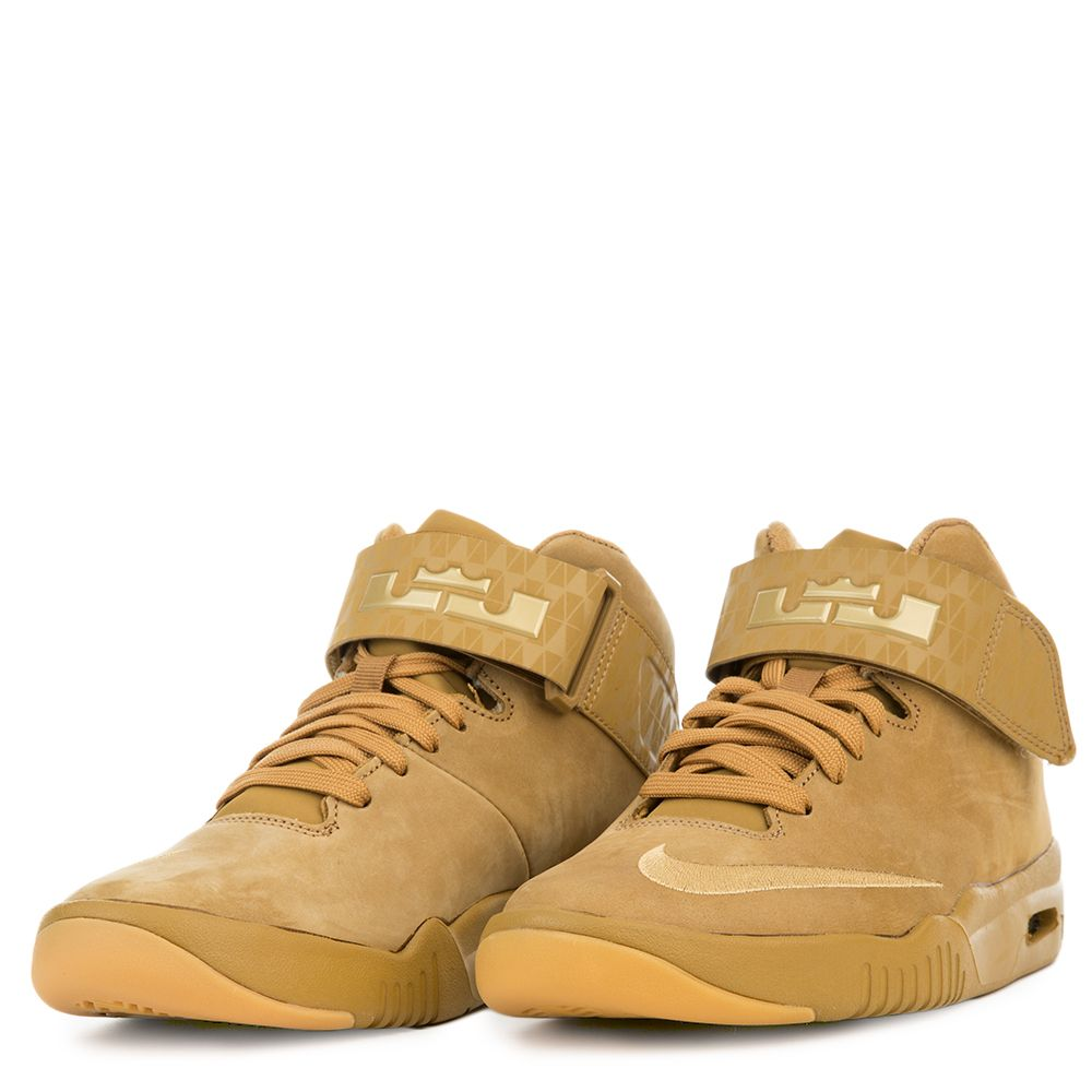 5f1e35e5116 ... NIKE AIR AKRONITE AS (GS) WHEATGUM YELLOWMETALLIC GOLD . ...