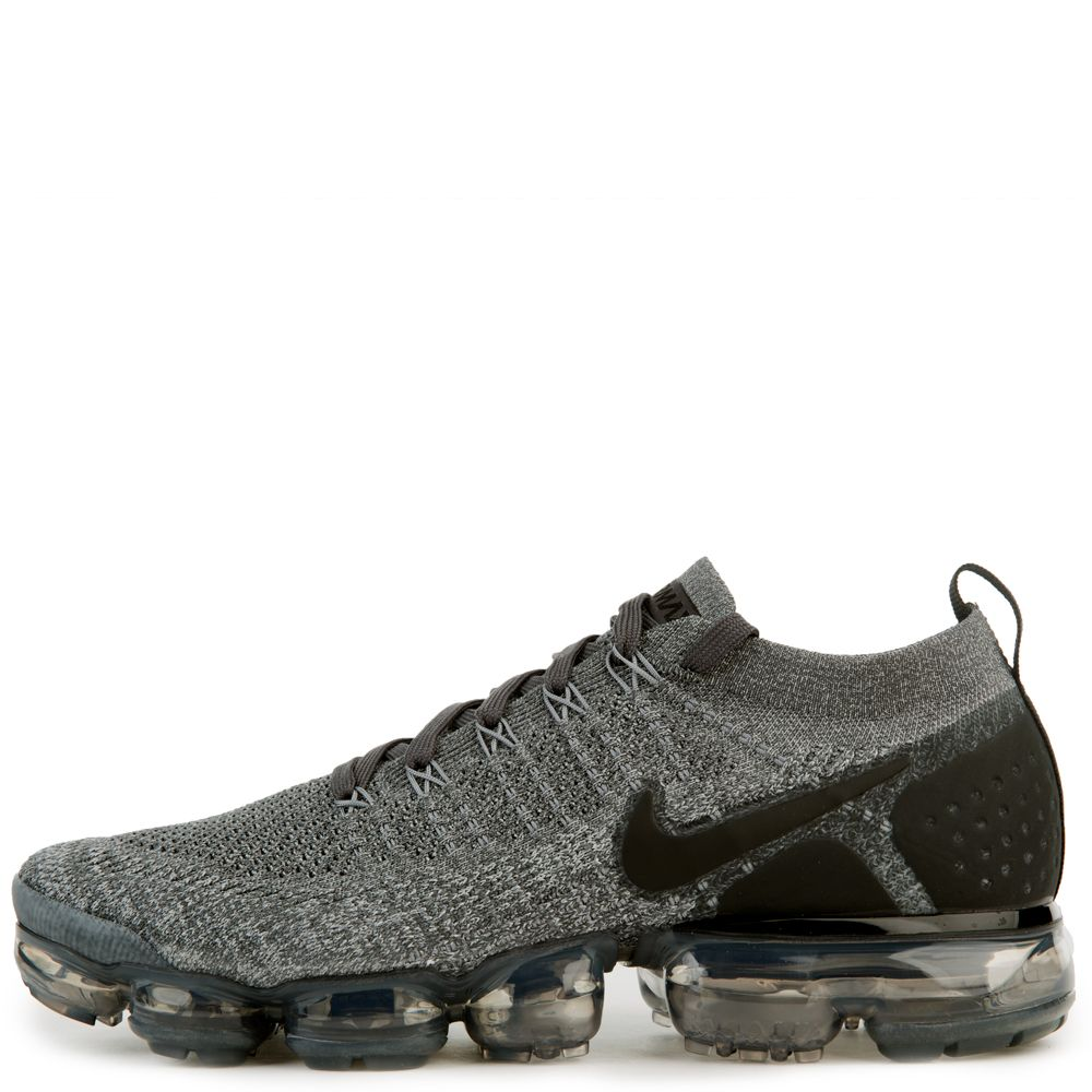 35be329d0902b Nike Air VaporMax Flyknit 2 Wolf Grey White Women s Men s Running Shoes