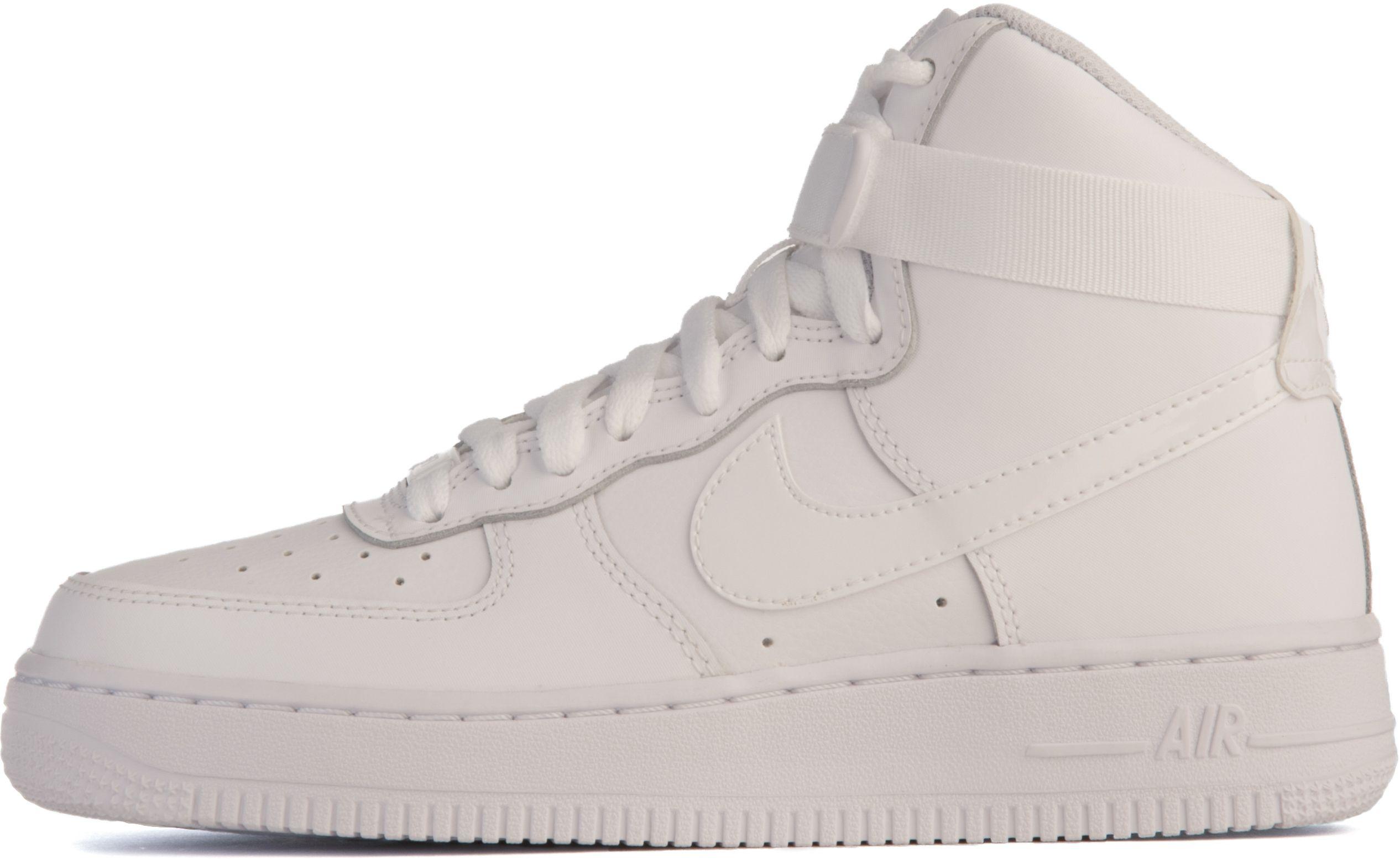 air force 1 white high