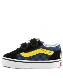cheap for discount be892 3fb16 (TD) Old Skool V Checkerboard Multi/Black