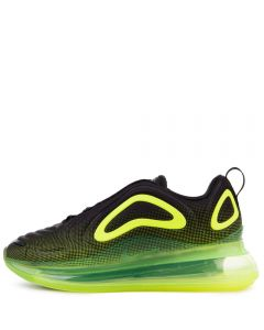best sneakers 7d2c6 c15d8 (GS) AIR MAX 720 BLACK BRIGHT CRIMSON-VOLT