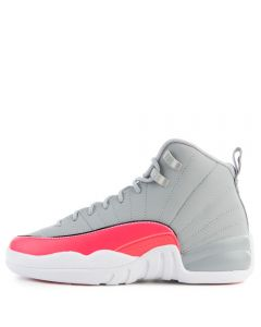 big sale a1371 c4d61 (GS) Air Jordan 12 Retro Wolf Grey/Racer Pink-Black