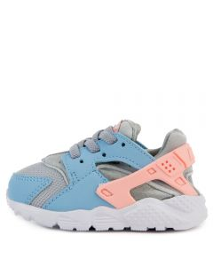 929df48aed622 (TD) HUARACHE RUN WOLF GREY BLEACHED CORAL-PSYCHIC BLUE