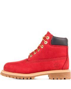 Kids 6-inch Premium Waterproof Boot Red