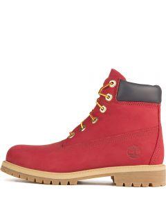 Junior 6-inch Premium Waterproof Boot Red