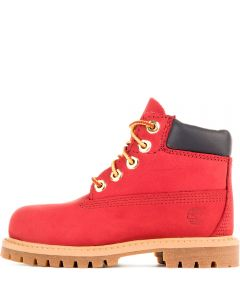 Toddler Casual Boot 6 IN Premium Red