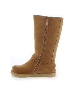 320b9b42da4 Women's Fur Interior Boot Urban Buckle Chestnut