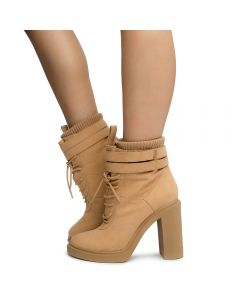 9664b95ebf56 Women s Modelo-1 Ankle Boots Camel