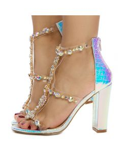 2a117a0f3f1 Women's Taylor-19 High Heel PINK HOLOGRAM