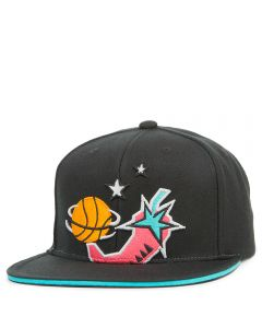best sneakers 138a3 2ab30 Men s All Star High Crown Snapback BLACK. Mitchell and Ness MEN S ALL ...