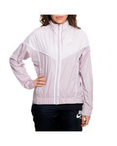 ed4d0fecc19 Nike WOMEN S NIKE WINDRUNNER JACKET PARTICLE ROSE BARELY ROSE WHITE