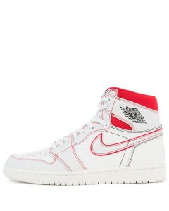 promo code f2b82 8f743 AIR JORDAN 1 RETRO HIGH OG SAILBLACK-PHANTOM-UNIVERSITY RED