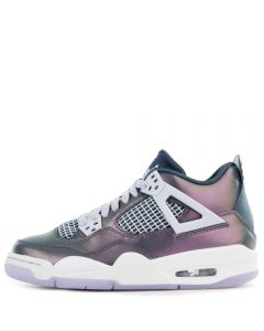 more photos 16670 a2e39 (GS) AIR JORDAN 4 RETRO MONSOON BLUE ARMORY BLUE-MELON TINT