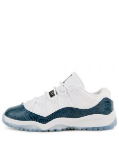 c81f3792dfe14f (PS) AIR JORDAN 11 RETRO LOW WHITE BLACK-NAVY