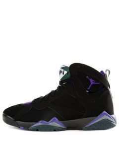 best service d70e3 74297 AIR JORDAN 7 RETRO BLACK FIELD PURPLE-FIR-DARK STEEL GREY