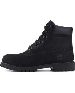 Black Youth Low Heel Boot 6 IN Premium
