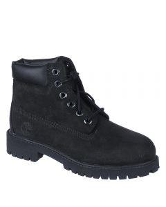 Kids 6 Inch Premium Boot Black