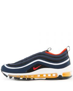 63ef3960bae8c (GS) Air Max 97 Midnight Navy/Habanero Red-Black-White