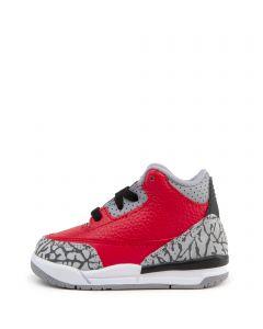 (TD) Air Jordan 3 Retro SE Fire RedFire Red Cement Grey Black