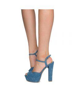 Simple Women's 59 Denim Blue Platform XN8wOkn0P