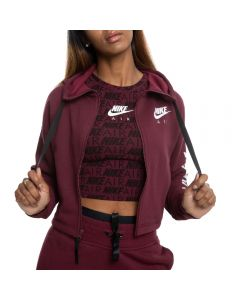 732697d72f6e NIKE AIR FULL-ZIP HOODIE NIGHT MAROON WHITE