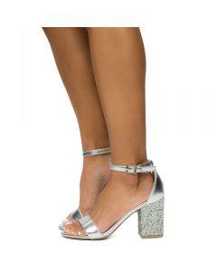 Women's Appetite 46m Heel High Silver 5AR4j3L