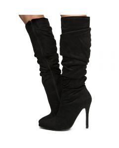 Women\u0027s Knee High Boot BLACK