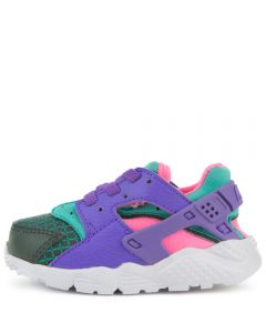 on sale 8c416 49988 (TD) HUARACHE RUN ULTRA NOW OUTDOOR GREEN HYPER GRAPE-CABANA