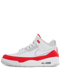 detailed pictures 30157 271bf AIR JORDAN 3 TINKER WHITE UNIVERSITY RED-NEUTRAL GREY