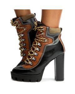 9bcb8241b95 Kunst-1 Rugged Outdoor Boots Black Multi