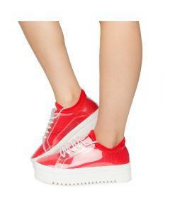 8c294da034f Women's Tanya-01 Sneakers Red