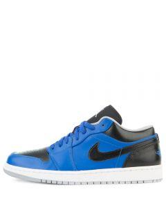 online store ef47a 36373 AIR JORDAN 1 LOW SPORT BLUE WOLF GREY-BLACK
