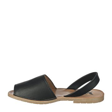 One-S Flat Sandals Black