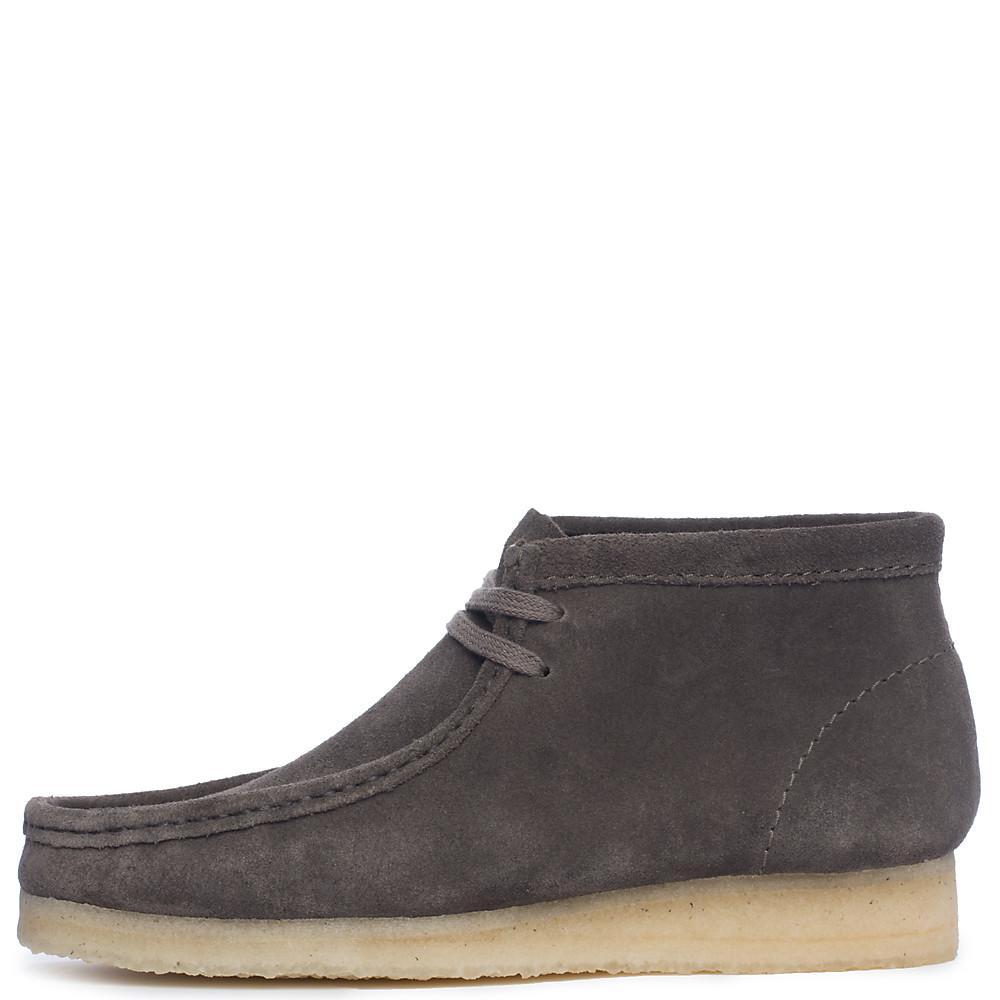 Men S Wallabee Boot Gray