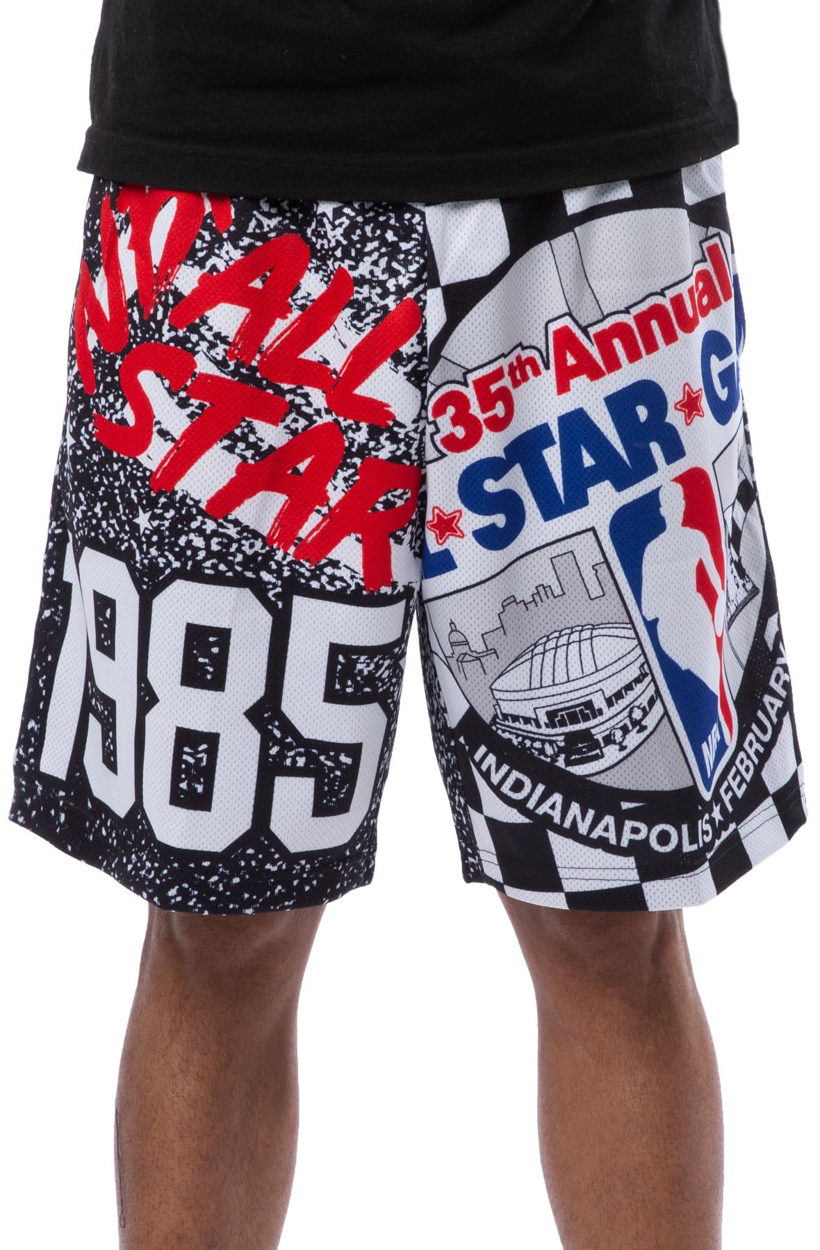 NBA All Star Mesh Shorts Black