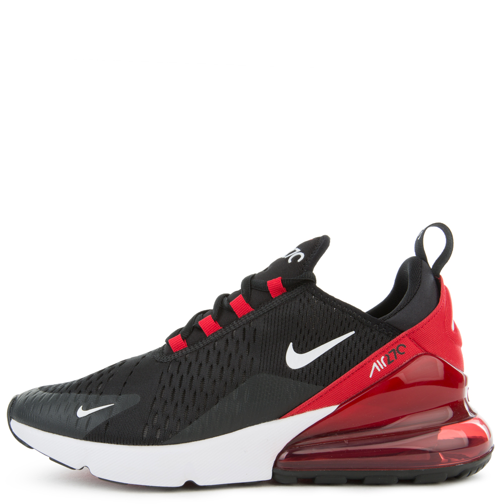 Air Max 270 Black White University Red Anthracite