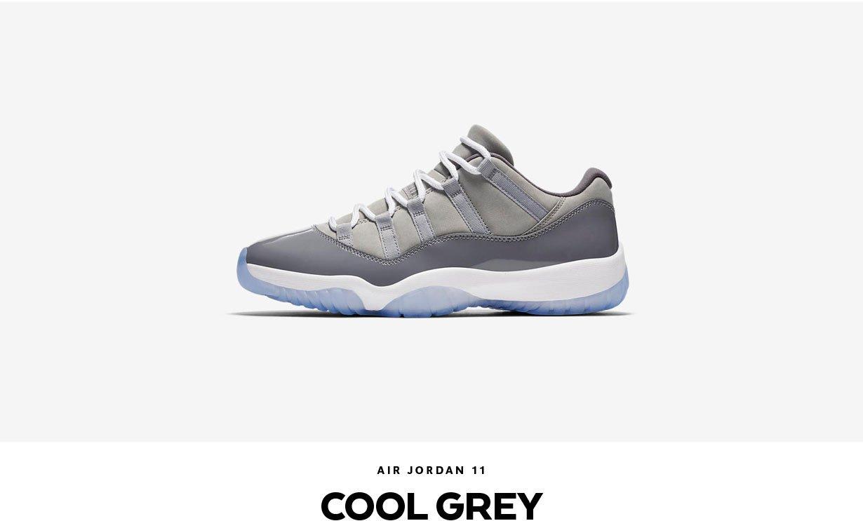 Jordan 11 Low Cool Grey | Shiekh.com