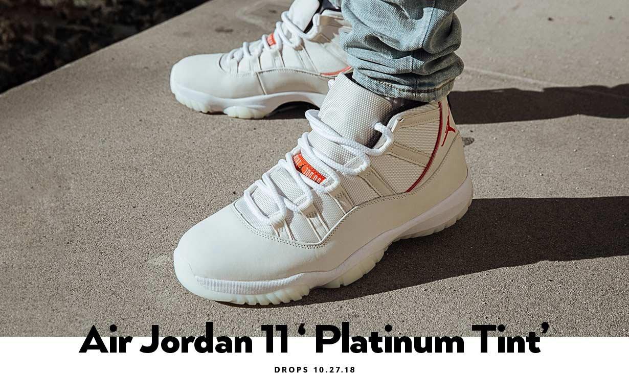 Air Jordan 11 Retro Platinum Tint