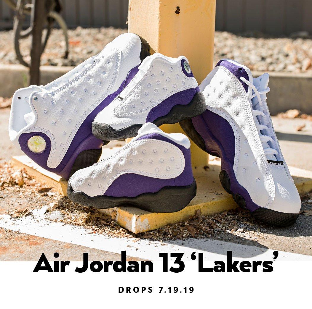 Air Jordan 13 Retro 'Lakers' | Shiekh.com