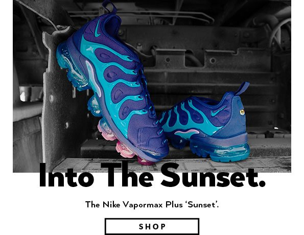 21dca5e4a933 The Nike Vapormax Plus  Sunset