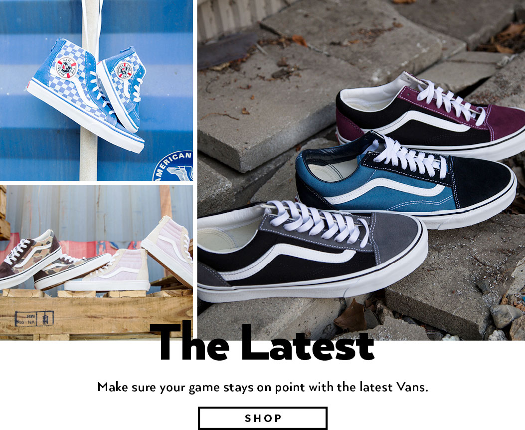 6f7aa0fb73 Vans - Shoes and Apparel | Skate Sneakers, T-Shirts & More | Shiekh